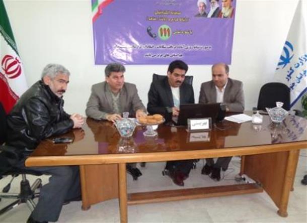 صبح امروز مدیر کل بهزیستی استان میهمان سامانه الکترونیکی مردم و دولت بود.